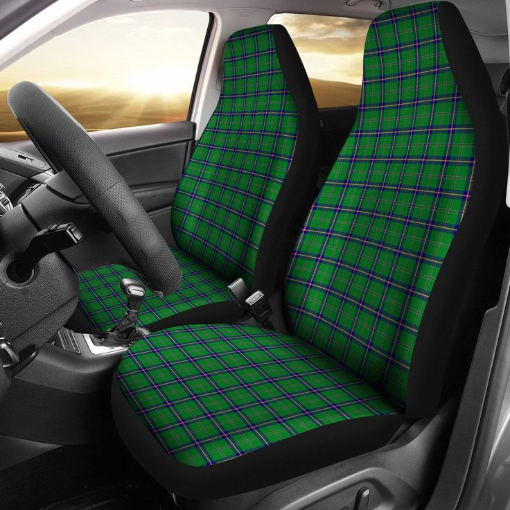 WASHINTON STATE DISTRICT TARTAN CAR SEAT COVERS TH1