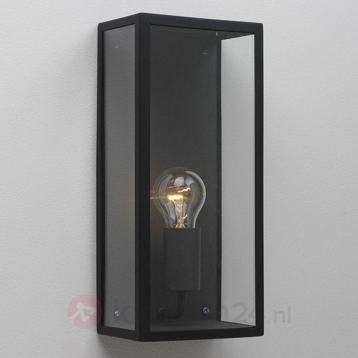 Hoekige buiten-wandlamp Messina 1020334