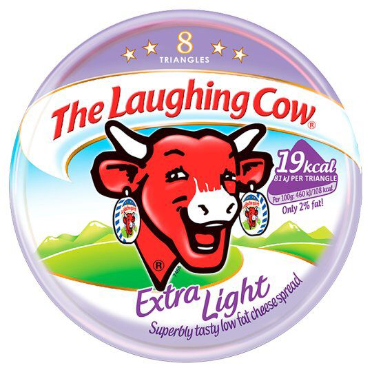 Laughing Cow Extra Light Triangles - 6 = Healthy Extra A ...