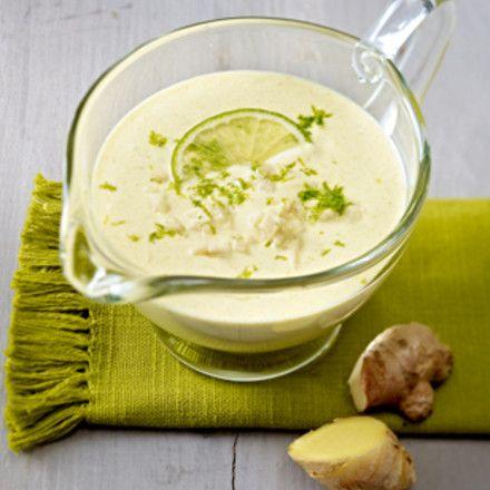 Curry-Joghurt-Dressing mit Limette Rezept | LECKER