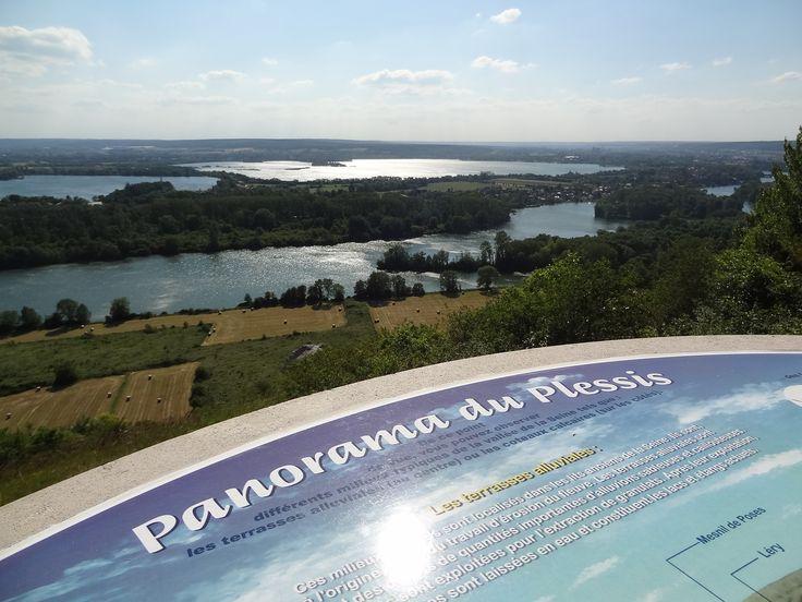 Venez découvrir le panorama du Plessis, tout beau, tout neuf !  © Agglo Seine-Eure