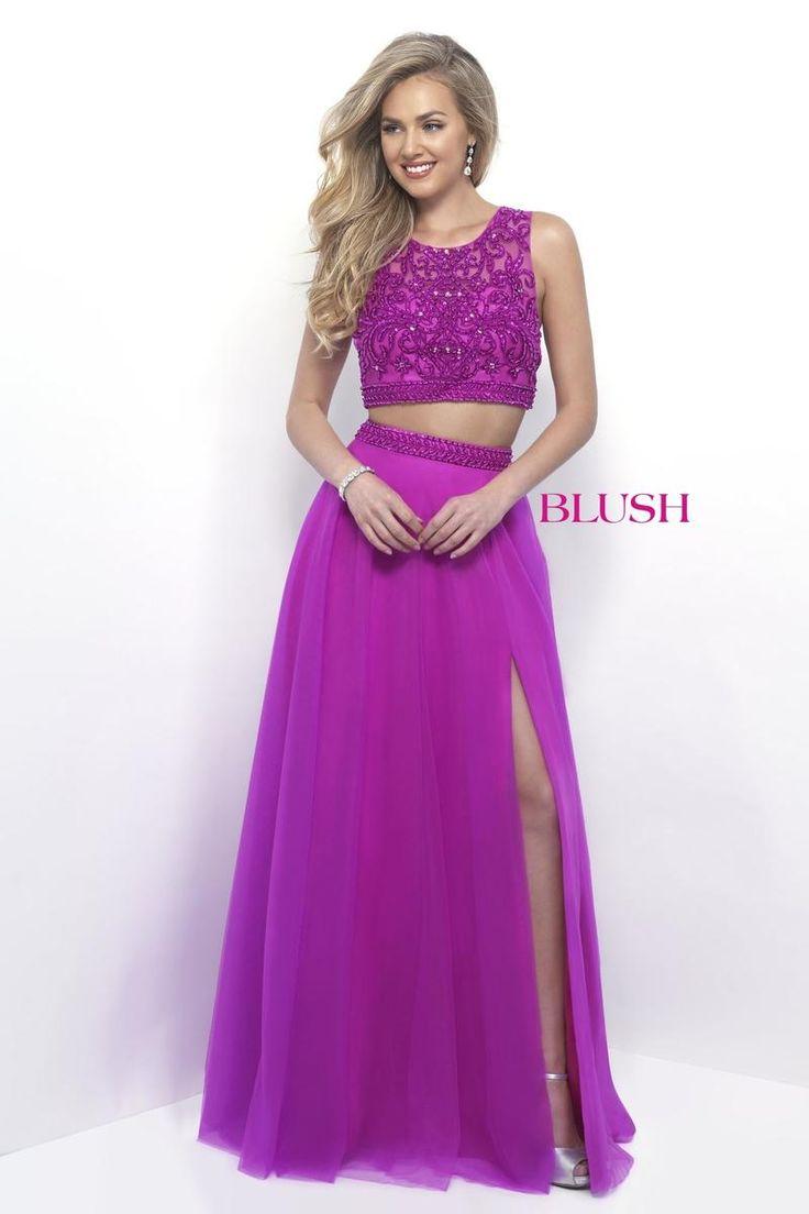 Único Rubor De Color Rosa Vestido De Fiesta Fotos - Vestido de Novia ...