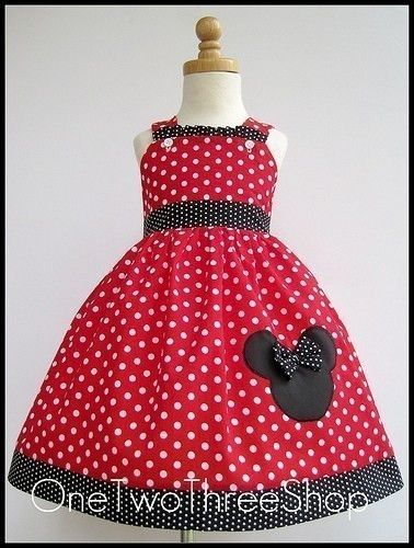 Melanie Minnie Mouse Red and White Polka Dot Jumper by amacim, $29.99