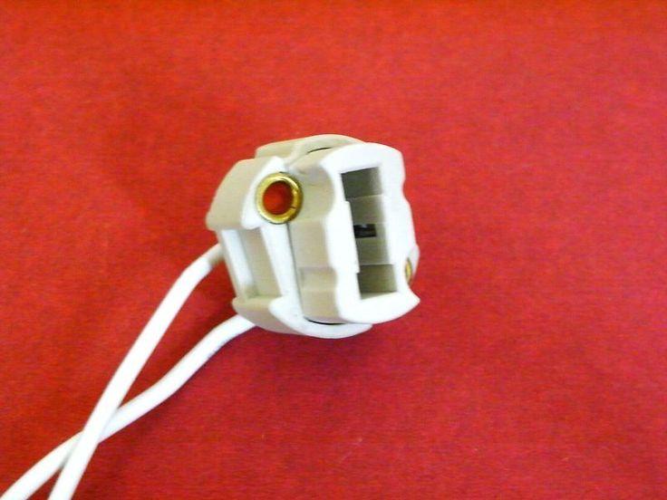 5 x Lampenfassung Fassung G9 Halogen Keramik Neu!!