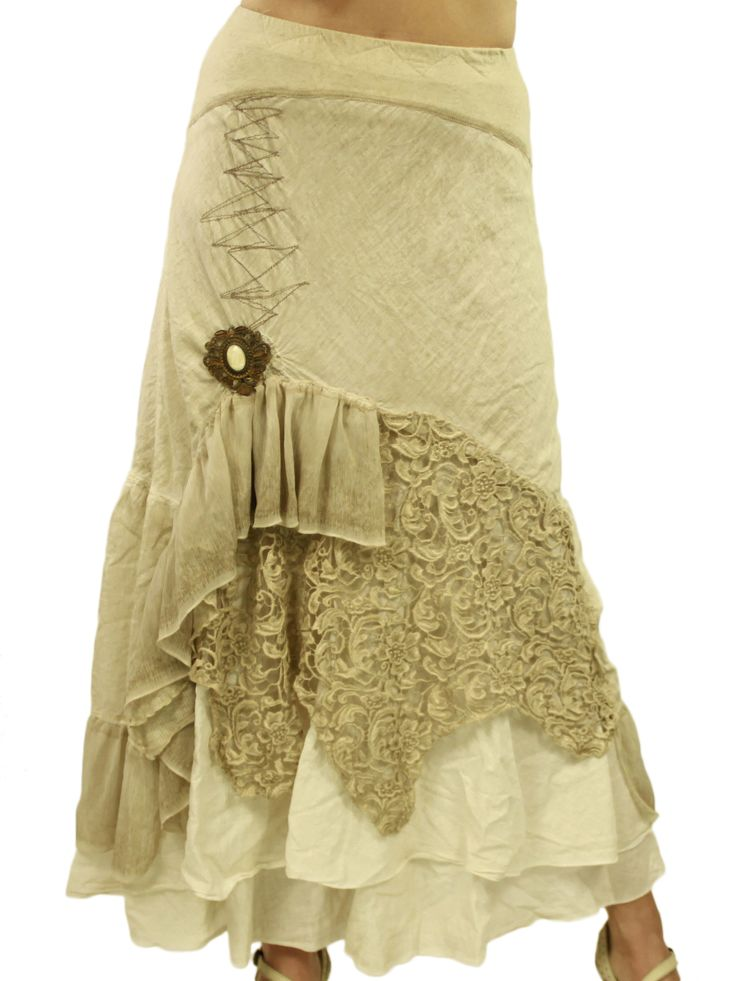 Boho Skirt Elisa Cavaletti: I'd wear it with big black boots and a bold, cropped t-shirt.
