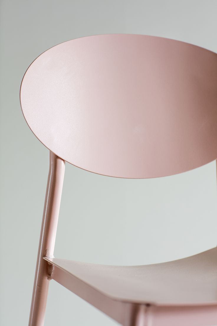 Donatella Dining Chair in Pink modern style