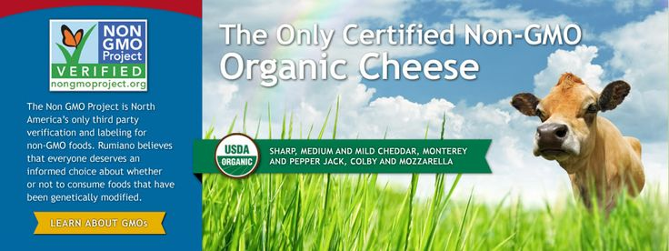 Rumiano Fine Natural Cheese:  Organic, Non-GMO, Pastured