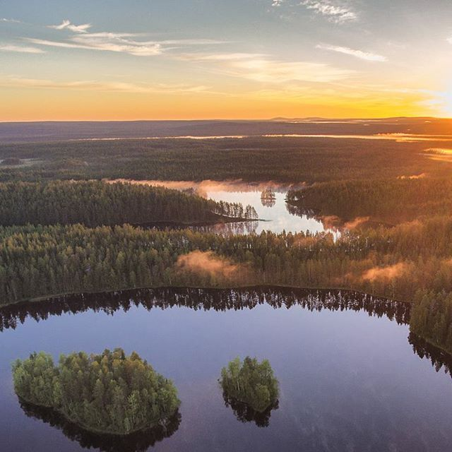 Hossa, Suomussalmi, Finland. From tiinautti.