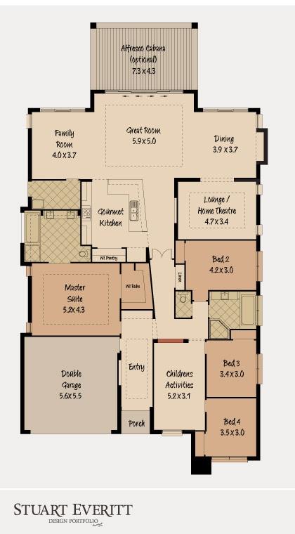 McDonald Jones Homes - The Beach House Collection - Floorplan #floorplans #luxuryhome