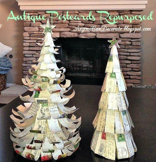 Antique Post Cards Repurposed - Simple DIY Tutorial
