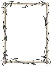 Resultado de imagen para marcos para dibujar en hojas elegantes