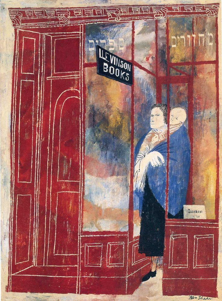 Ben Shahn - Bookshop
