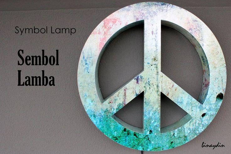 diy , lamp , peace , symbol