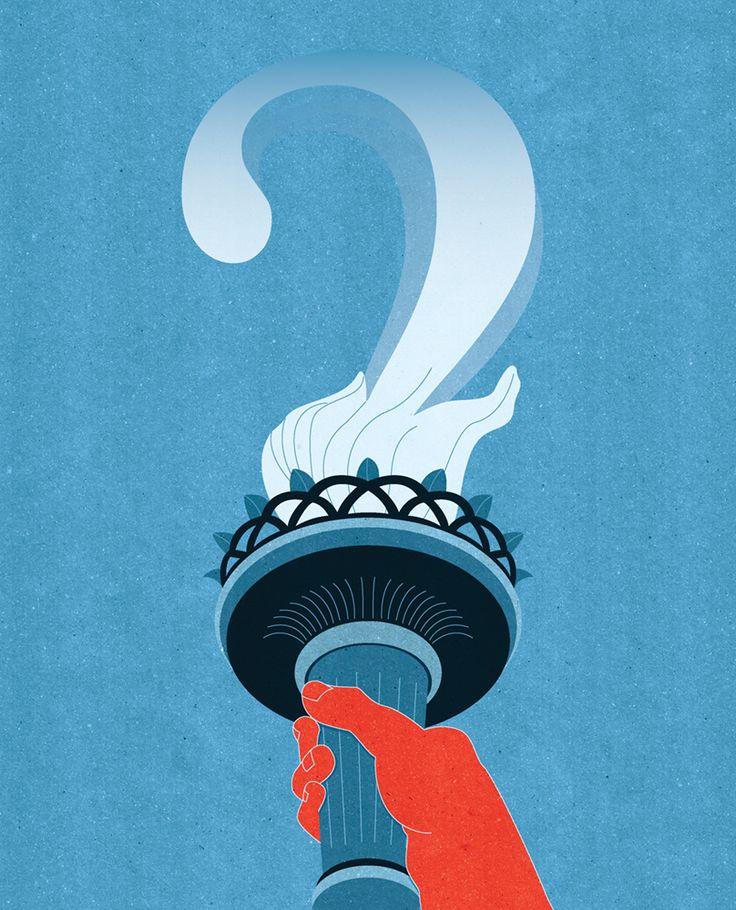 Kotryna Zukauskaite Clark University Alumni Magazin Where is America Heading?      Cover Art Judgesfor the Next Generation http://joaniebrep.com/kotryna-zukauskaite-56/  #politics #election #supremecourt #voting #vote