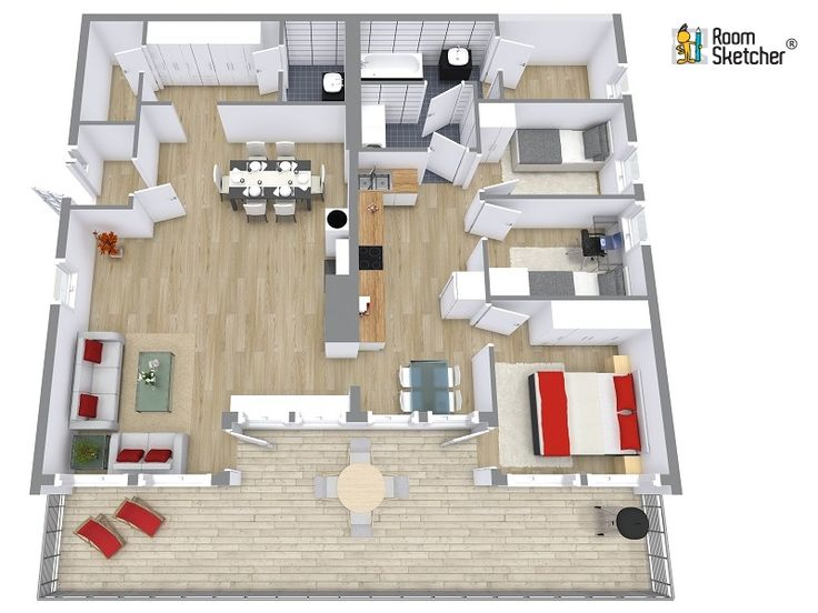 127 Best Images About Home Building With Roomsketcher On Pinterest