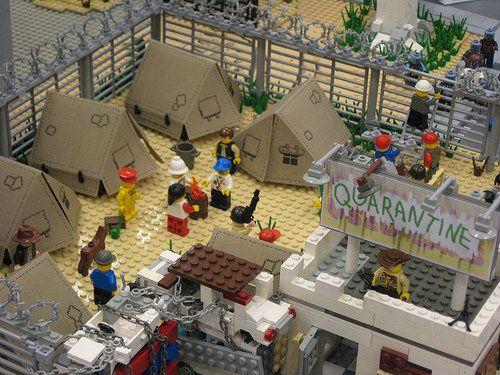 21 - Lego Zombie Apocalypse