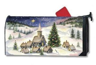 MailWraps Christmas Village Magnetic Mailbox Cover – Drills n' Bits