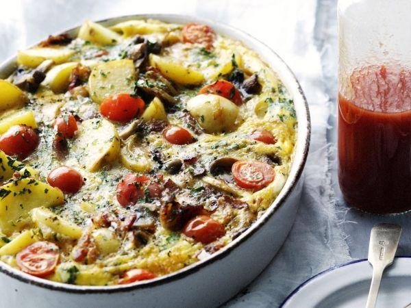 Gratin met kip, groenten en aardappel - Libelle Lekker!