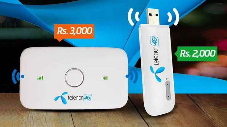 Today we will look at Telenor 3G/4G Internet Device packages. Telenor is leading internet and mobile brand of Pakistan. The major partner in Pakistan