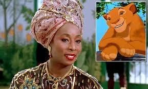 Madge Sinclair as Simba's mother, Sarabi<3