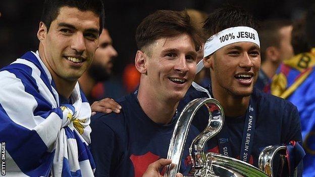 Premier League is Barcelona's biggest rival, says president