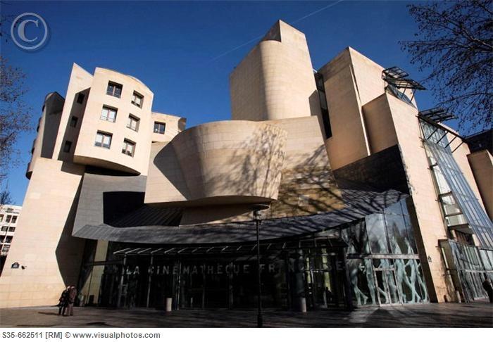 Frank Gehry  Cinematheque Francaise - Paris