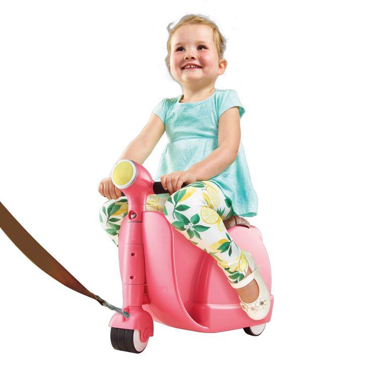 🎁 NEW : Valise Scooter pour Enfant ➡ http://ow.ly/bKli300ZIBH ✔ en stock / 🚚 expédié en 24h / 74.90€  Voyage avec enfant version fun !