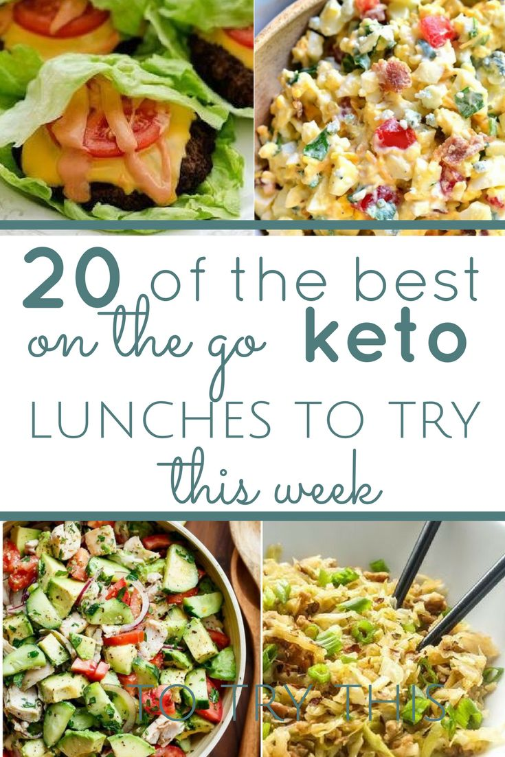 20 Keto Lunch Ideas for Work in 2019 Make ahead meals