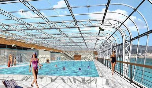 1000 images about paris pools on pinterest swimming for Piscine deligny