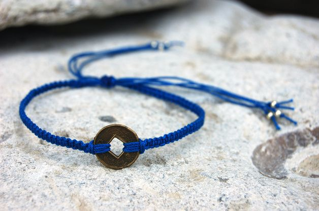 Mini macrame bracelet, Mini Makrameearmband, bead-it-up auf Dawanda