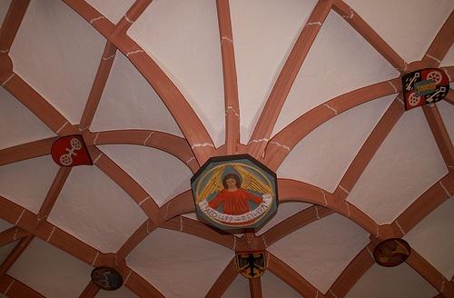 Mainz, St. Stephan, Kreuzgang