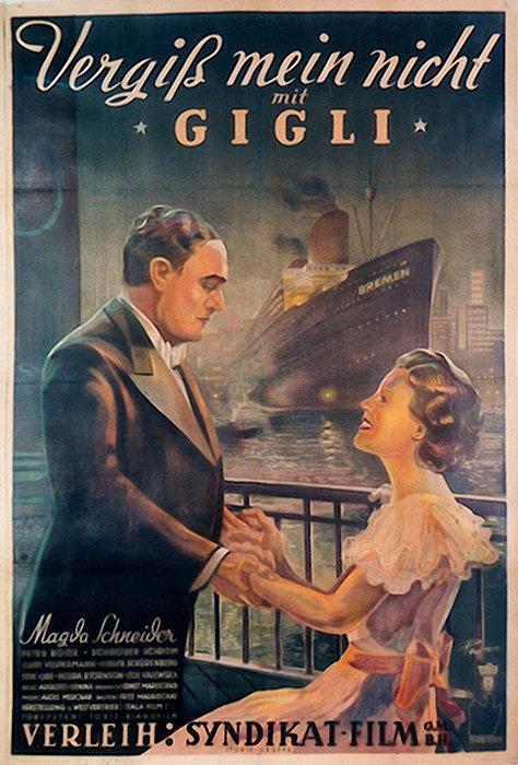 "Vergiss mein nicht (Chant du Souvenir) (1935) - ""Non Ti Scordar Di Me"" by Beniamino Gigli"