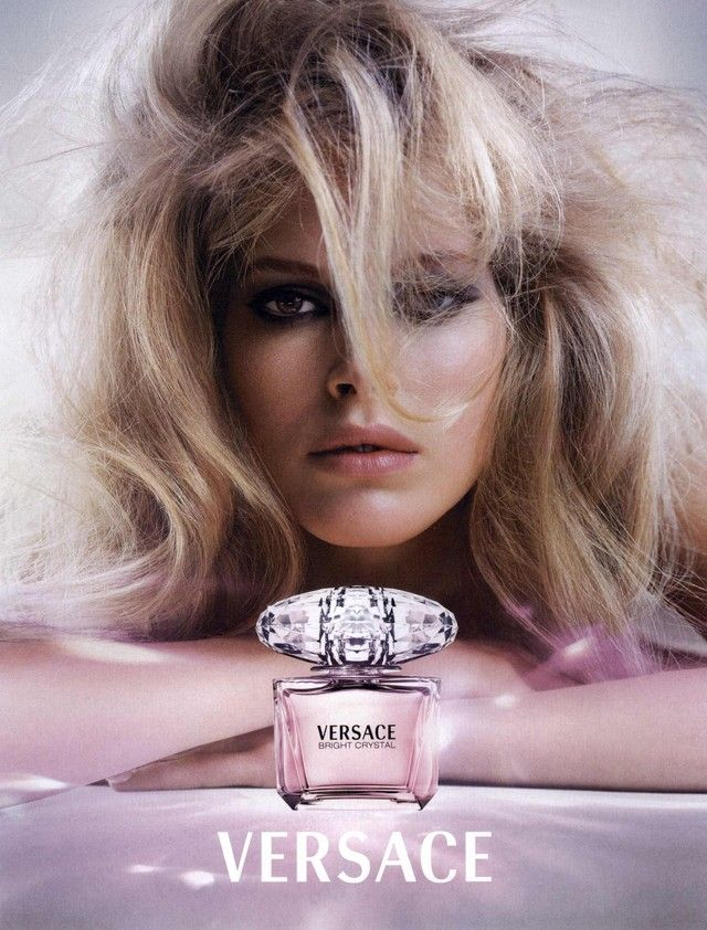 Versace Fragrance #Ad Campaign Bright Crystal Shot #1