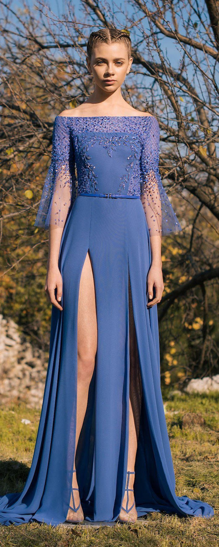 Georges Hobeika Pre-Fall 2018 - Ready-to-Wear - http://www.orientpalms.com/Georges-Hobeika-7002