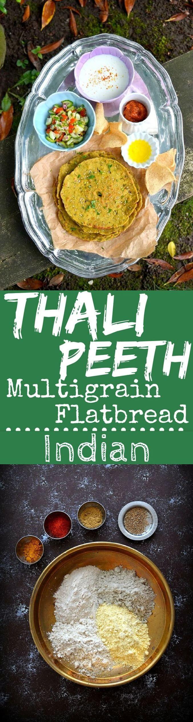 Bring Me Flours: Thalipeeth (Indian Multi-grain Flat-bread) - Spice in the City