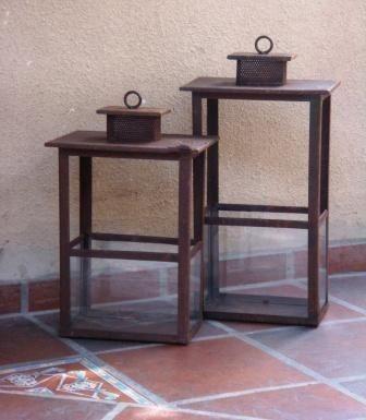 fanales25944_179914666_4-Faroles-fanales-en-hierro-y-porta-velas-Compra-Venta