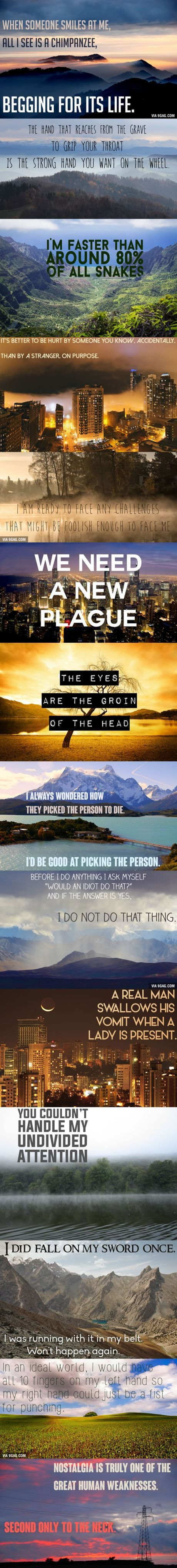 If Dwight Schrute Quotes Were Motivational Poster