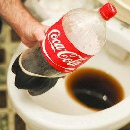 clean toilet with coke | Check out this cool way to clean your toilet bowl. Grab a coke and a ...Nastiest Stained, Coke, My Cousins, Cocacola, Coca Cola, Outdoor Grilled, Cleaning Products, Fireplaces Heat, Cleaning Toilets