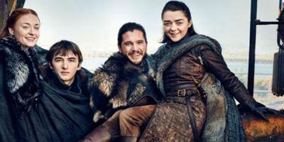 'Juego de Tronos': 'EW' reúne a los Stark en esta sesión de fotos