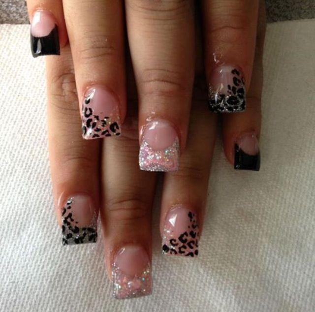 my obsession always forever CHEETAHHH | See more nail designs at http://www.nailsss.com/nail-styles-2014/2/