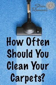 How Often Should I Clean . . . Items In & Around My Home?   eBay