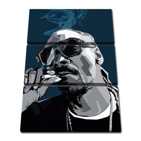 FLASH Black 60x40cm Large  wall art canvas print artwork home living room