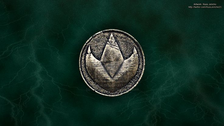MMPR Green Ranger Dragonzord Coin Wallpaper by ...