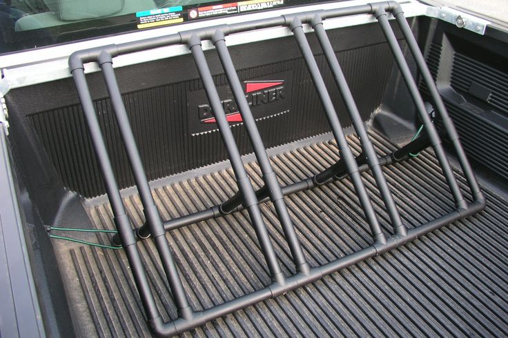 How to Build a Bike Rack for a Pickup Truck (with Pictures)