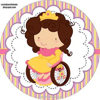 Kit para Festas -  Princesa Especial (Casinha Enfeitada)