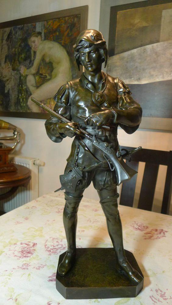 Orig. Emile Louis Picault 1860-1915 Bronzefigur Renaissance-Soldaten Rar Selten in Antiquitäten & Kunst, Metallobjekte, Bronze | eBay!