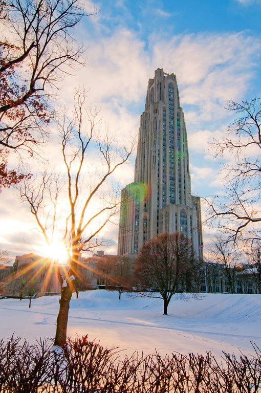 """""""Flare of Knowlege"""" - Oakland, University of Pittsburgh"""