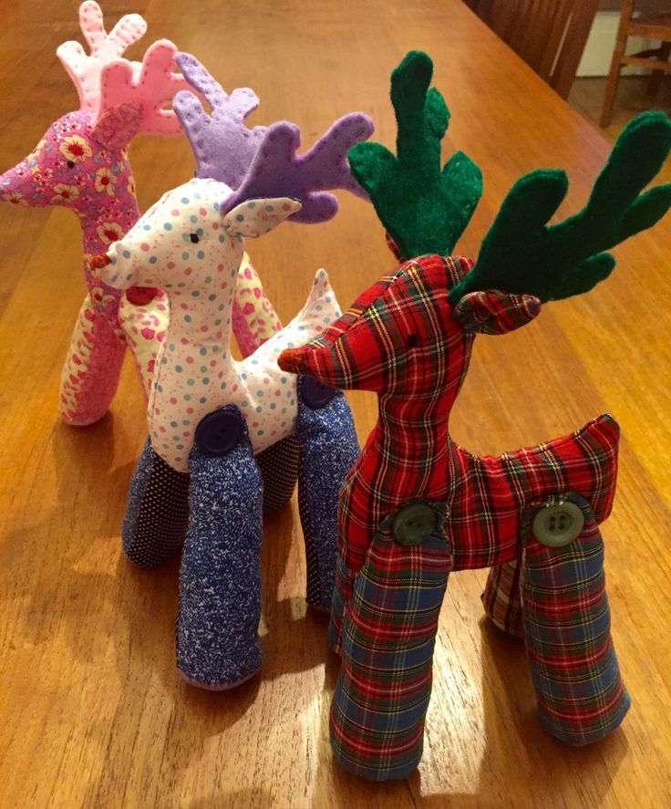 My growing reindeer family