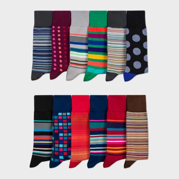 Paul Smith Men's Sock Subscription or just some socks from Paul Smith