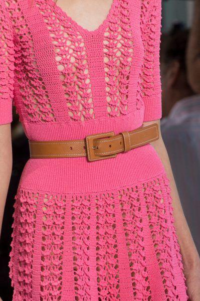 Маленькое розовое платье Michael+Kors+Spring+2017